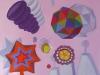 """""""tink"""", 180 x 220 cm, Acryl auf Nessel, 2008"""